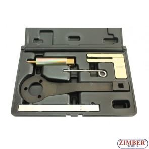 Набор инструмента для фиксации двигателя  BMW 1.8, 2.0, 2.5, 3.0, BMW Mini / Citroen – Peugeot 1.4 and 1.6  - ZR-36ETTSB39 - ZIMBER TOOLS