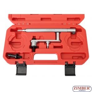 К-т инструменти за зацепване ангренажната система на  FIAT-1,6 16V - ZIMBER-TOOLS (ZR-36PCT)