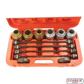 Silent block tool set (Universal) 26pcs - ZR-36URISK, ZIMBER-TOOLS