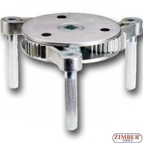 Съемник масляного фильтра трехлапый  95-165 мм,, ZR-36OFWSG01 - ZIMBER TOOLS.