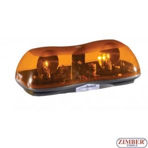 Сигнална лампа, Лайтбар  с магнит 12V - 42 cm