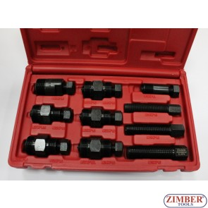Flywheel Puller Set for Motorcycle and ATV ,10-Piece - ZIMBER TOOLS