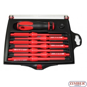 Insulated screwdriver set 7pc., 1000V (ZL-S5607V) - ZIMBER TOOLS