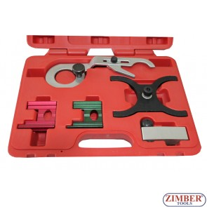 Engine timing tools set for General Motors and Saab V6 petrol engines  - ZIMBER (ZL-7244)
