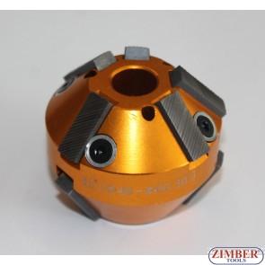 Фреза для прирезки седел клапанов 46mm-60mm 45° and 30° (SPARE PART FROM-ZR-36VRST, ZR-36VRST10) - ZIMBER-TOOLS