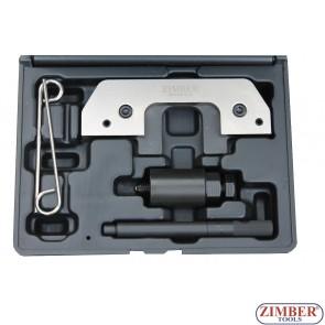 Набор инструмента для фиксации двигателя BMW M41 M51 E34 525 E36 318 325 E38 725 tds D E39 525 Opel Omega Land Rover Range Rover II 2.5 TD-36ETTSB43-ZIMBER TOOOLS