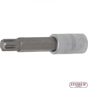 "Bit Socket | length 100 mm | 12.5 mm (1/2"") Drive 