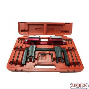 Набор инструмента для фиксации двигателя BMW - N51,N52,N53, N54, ZR-36ETTSB47 - ZIMBER-TOOLS