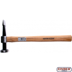 Body Hammer round, flat Head / straight, horizontal fin 480-g. (1672-3) - BGS technic