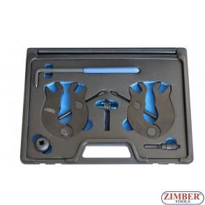 Набор инструмента для фиксации двигателя Audi A4 A6 3.0L VAG 3.0 V6 - ZR-36ETTS315 - ZIMBER TOOLS