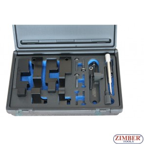 Набор инструмента для фиксации двигателя LAND ROVER, RANGE ROVER TDV8 V8 3.6 - ZIMBER TOOLS.