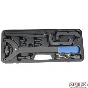 Набор фиксаторов валов ГРМ AUDI VW AUDI Q5 2.0, A6L 2.8/3.0T, ZR-36ETTS231 - ZIMBER TOOLS.