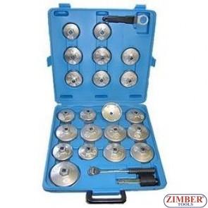 24 Pcs Oil Filter Wrench Kit, Cap Wrench Kit  - ZIMBER-TOOLS.