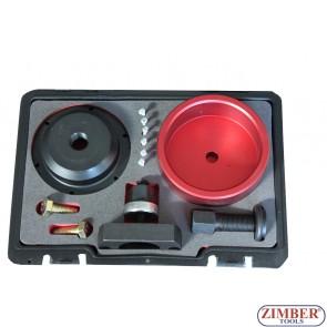 Набор инструментов для демонтажа сальника коленвала переднего (BMW N40-N54) ZT-04A1036D - SMANN TOOLS.