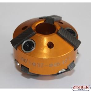 Cutter 37mm-46mm 60° and 45° (ZR-41VRST1003) - ZIMBER-TOOLS