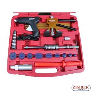 Комплект клеевой системы для работы с вмятинами автомобиля (ZR-36DDMK) - ZIMBER-TOOLS
