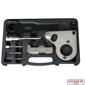 Набор инструмента для фиксации двигателя Renault, Nissan, Vauxhall/Opel Diesel 2.0, 2.3 dCi, CDTi-M9R/M9T - Chain Drive - ZR-36ETTS157 - ZIMBER TOOLS.