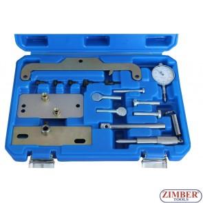 Набор инструмента для фиксации двигателя Opel,Isuzu, Fiat 1.7L X17DTL, 17DR, Z17DT, Y17DT - ZT-04A2210 - SMANN TOOLS