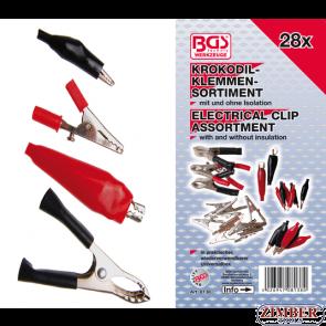 Electrical Clip Assortment   28 pcs. (8138) - BGS technic.