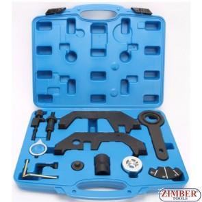 Набор инструмента для фиксации распредвала на BMW N62, N73, ZT-04A2278 - SMANN TOOLS.