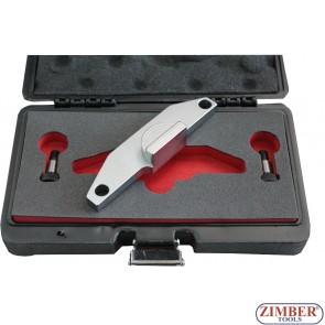 Набор инструмента для фиксации двигателя AUDI SKODA 1.9 TDI SDI - ZT-04A2202D - SMANN TOOLS
