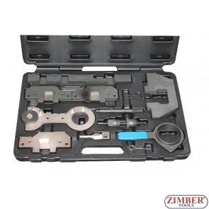 Набор инструмента для фиксации двигателя BMW M42, M44, M50, M52, M54, M56,ZR-36ETTSB33 - ZIMBER-TOOLS