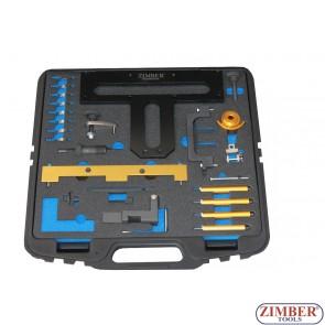 Набор инструмента для фиксации двигателя  BMW N42, N46, N46T, ZR-36ETTSB01 - ZIMBER TOOLS