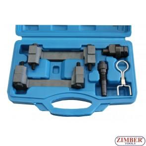 Набор инструмента для фиксации двигателя VAG 2.4 & 3.2 FSI  - ZT-05197 - SMANN TOOLS