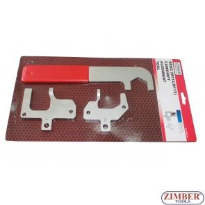 Набор инструмента для фиксации двигателя Mercedes Benz M112, M113 -ZR-36BCAT - ZIMBER TOOLS.
