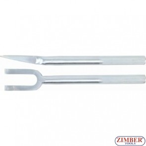 Fork and Mount Type Separator | 410 mm | Jaw 18 mm-1805 - BGS technic