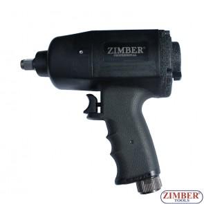 """Гайковерт пневматический 1/2"""" ZR-11IWCTH12 - ZIMBER-TOOLS."""