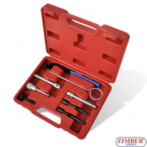 Набор инструмента для фиксации двигателя -Diesel - Chrysler/Jeep, LDV - 2.5D CRD, 2.8D CRD - ZT-04A2060 - SMANN TOOLS