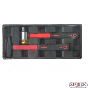 Double Ended soft face hammer&300g Machinist hammer - SMANN TOOLS