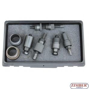 Комплект съемников шестерни ТНВД BMW, Opel, ZR-36ESB01- ZIMBER TOOLS