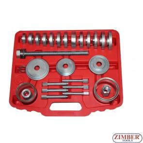31-piece Wheel Bearing Tool Set - ZT-04B1059 - SMANN TOOLS.