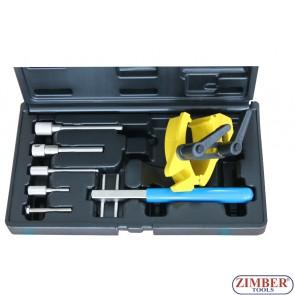 Набор инструмента для фиксации двигателя Renault, Opel/Vauxhall & Volvo,ZR-36ETTS301- ZIMBER TOOLS.