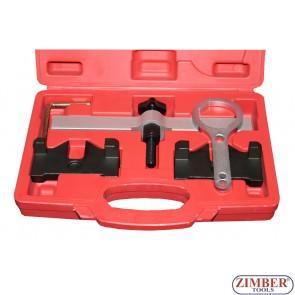 Набор инструмента для фиксации двигателя BMW N63 V8 VANOS, ZT-04A2138 - SMANN TOOLS