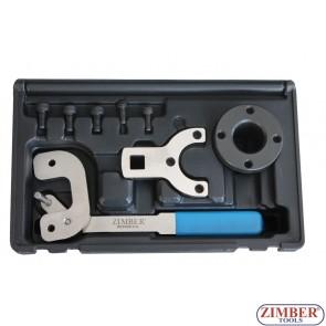 Набор инструмента для фиксации двигателя  Alfa Romeo, Ford, PSA, Suzuki, Vauxhall/Opel 1.3D 16v - Chain Drive- ZR-36ETTS251 - ZIMBER TOOLS.