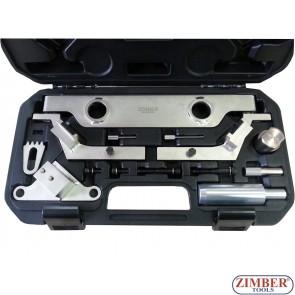 Набор инструмента для фиксации двигателя VAUXHALL/OPEL, SAAB, CHEVROLET 2.0lt and 2.4lt - ZR-36ETTS258 - ZIMBER TOOLS.