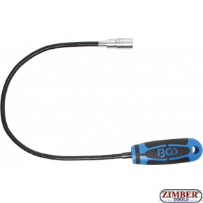 Magnetic Pick-Up Tool with LED 600 mm Capacity 1.5 kg (3187) - BGS technic