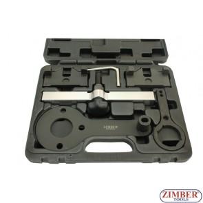 Набор инструмента для фиксации двигателя BMW  N63 V8 VANOS, ZR-36ETTSB50 - ZIMBER TOOLS.