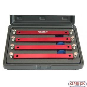 Набор инструмента для фиксации двигателя Mercedes Benz M276, M157, M278 - ZR-36ETTSB62 - ZIMBER-TOOLS