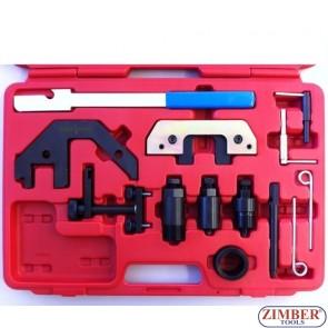 Набор инструмента для ремонта ГРМ BMW, M41, M51, M47, ZR-36ETTSB04 - ZIMBER-TOOLS.