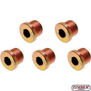Oil Drain Plug for BGS 126 M17 x 1.5 mm 5 pcs. (126-SM17) - BGS technic