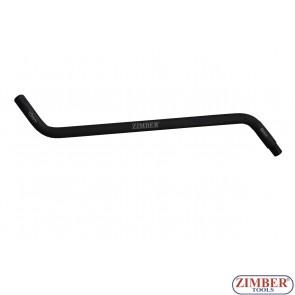 Oil Plug Wrench 8x10 mm PEUGEOT ф12 - ZR-36OPW0810 - ZIMBER-TOOLS