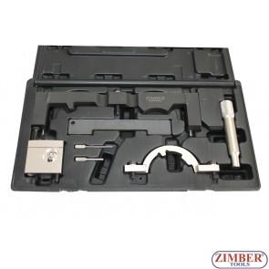 Opel/Vauxhall timing tool set - 1.0/1.2/1.4 - ZR-36ETTS206 - ZIMBER - TOOLS