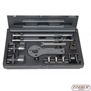 Petrol Engine Setting/Locking Kit - Alfa Romeo, Fiat, Lancia 1.2, 16v,1.4 16v, 1.4 T-Jet - Belt Drive - ZR-36ETTS177 - ZIMBER TOOLS.