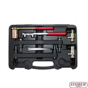 Набор инструмента для фиксации двигателя Jaguar, Land Rover 3.2, 3.5, 4.0, 4.2, 4.4 V8 - Chain Drive, ZR-36ETTS74 -ZIMBER TOOLS.