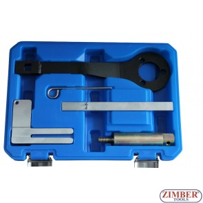 Набор инструмента для фиксации двигателя  BMW 1.8, 2.0, 2.5, 3.0, BMW Mini / Citroen – Peugeot 1.4 and 1.6  - ZT-04A2194 - SMANN TOOLS