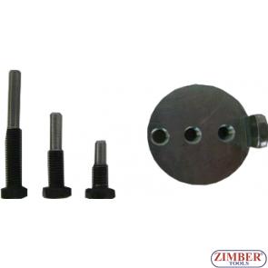 Комплект для установки/снятия приводного ремня Audi / Seat / Skoda / Volkswagen, 4pcs- ZR-36MTSFMRB02 - ZIMBER TOOLS